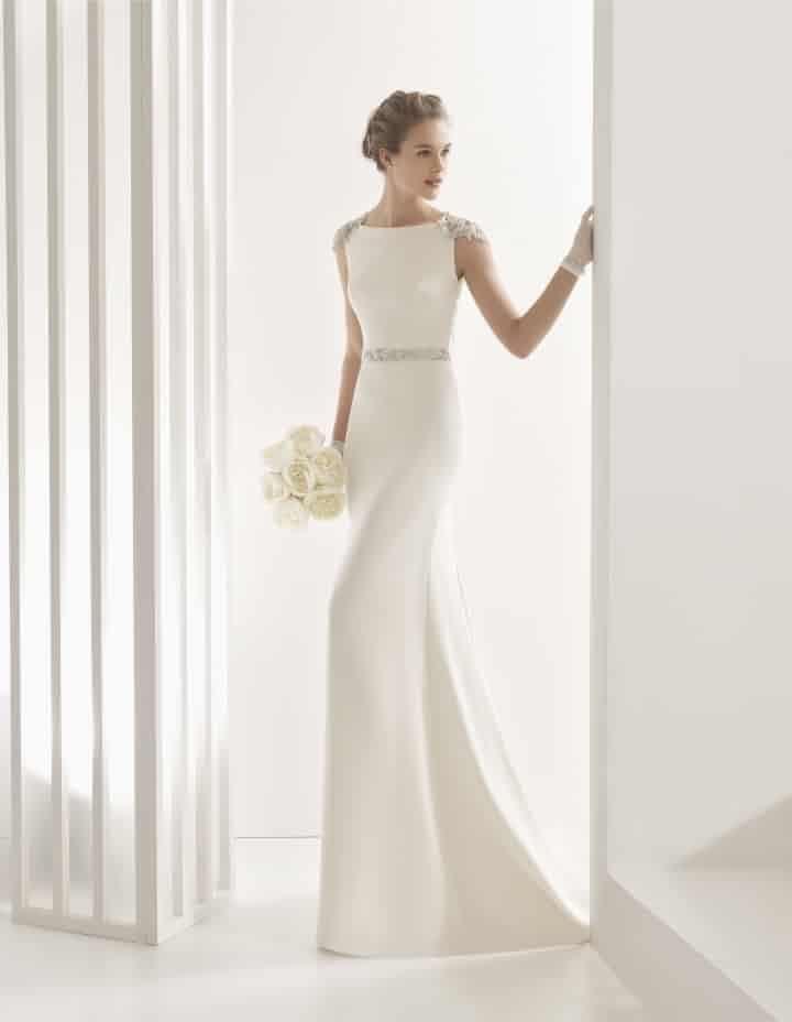 vestidos de novia sencillos: 50 propuestas singulares | vestidos