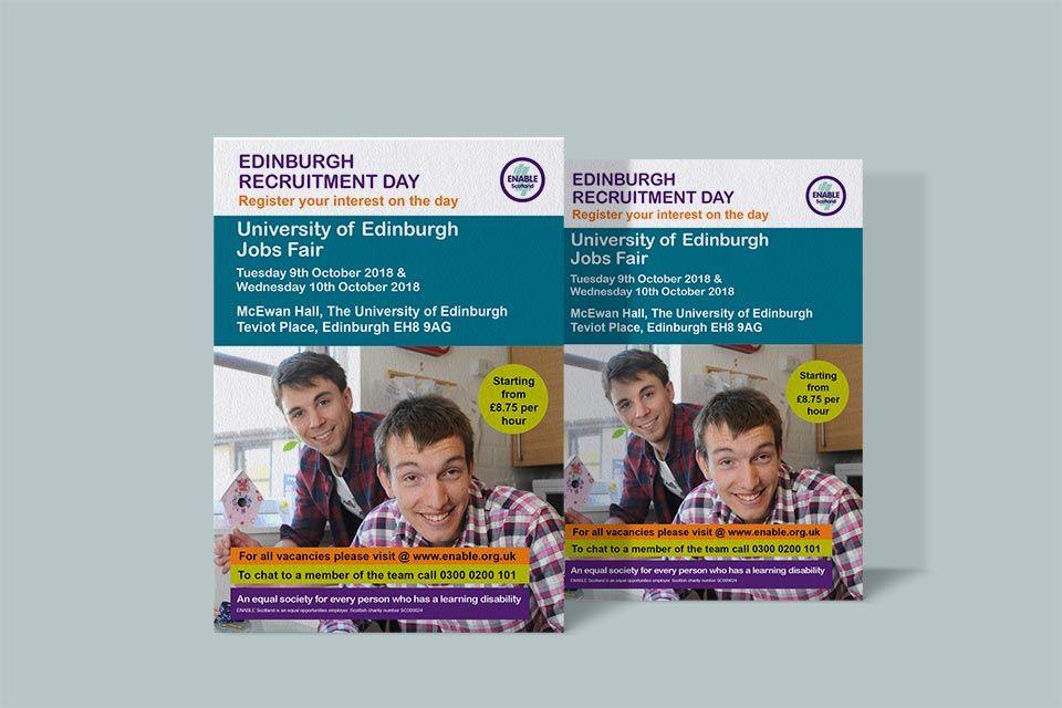 presenting 2018 shoes wide varieties University of Edinburgh Recruitment Day Flyers: #Flyer ...