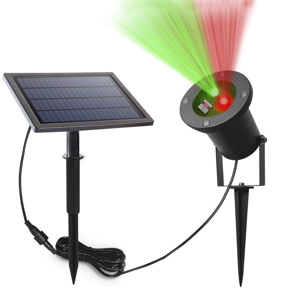 Solar Laser Lights ,Solarmks Solar Lights Outdoor Red & Green Laser ...