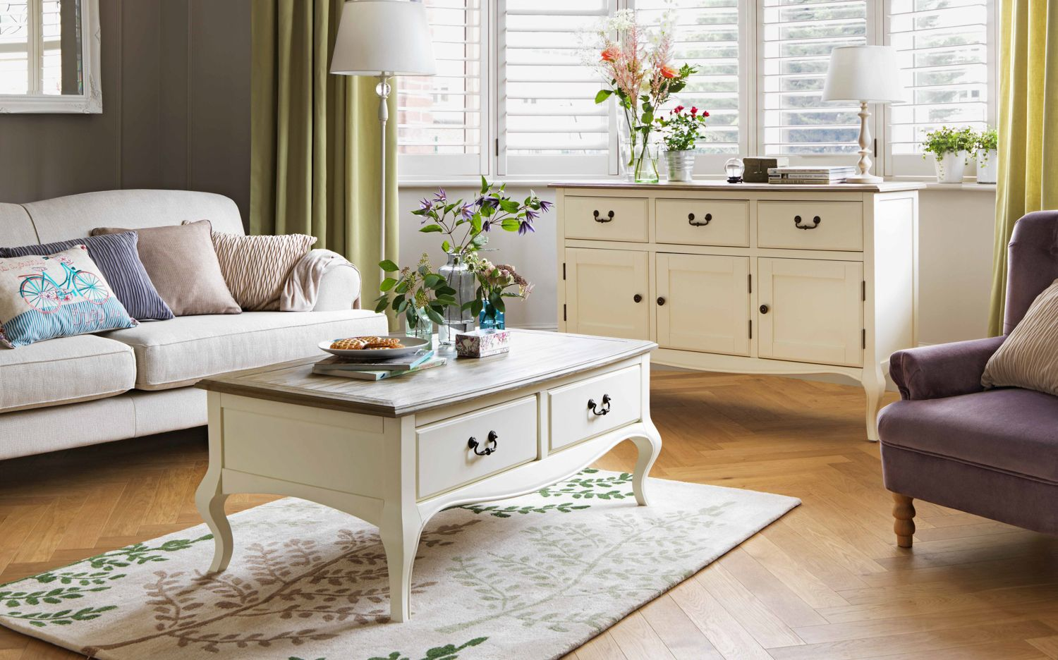 Elegant heart of house harper collection boasts feminine curves and delicate detailing made from solid pine wood and arrives fully assembled for ease