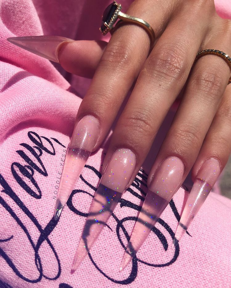 Ig Bold Beautycollective Jelly Nails Long Acrylic Nails Gel Nails