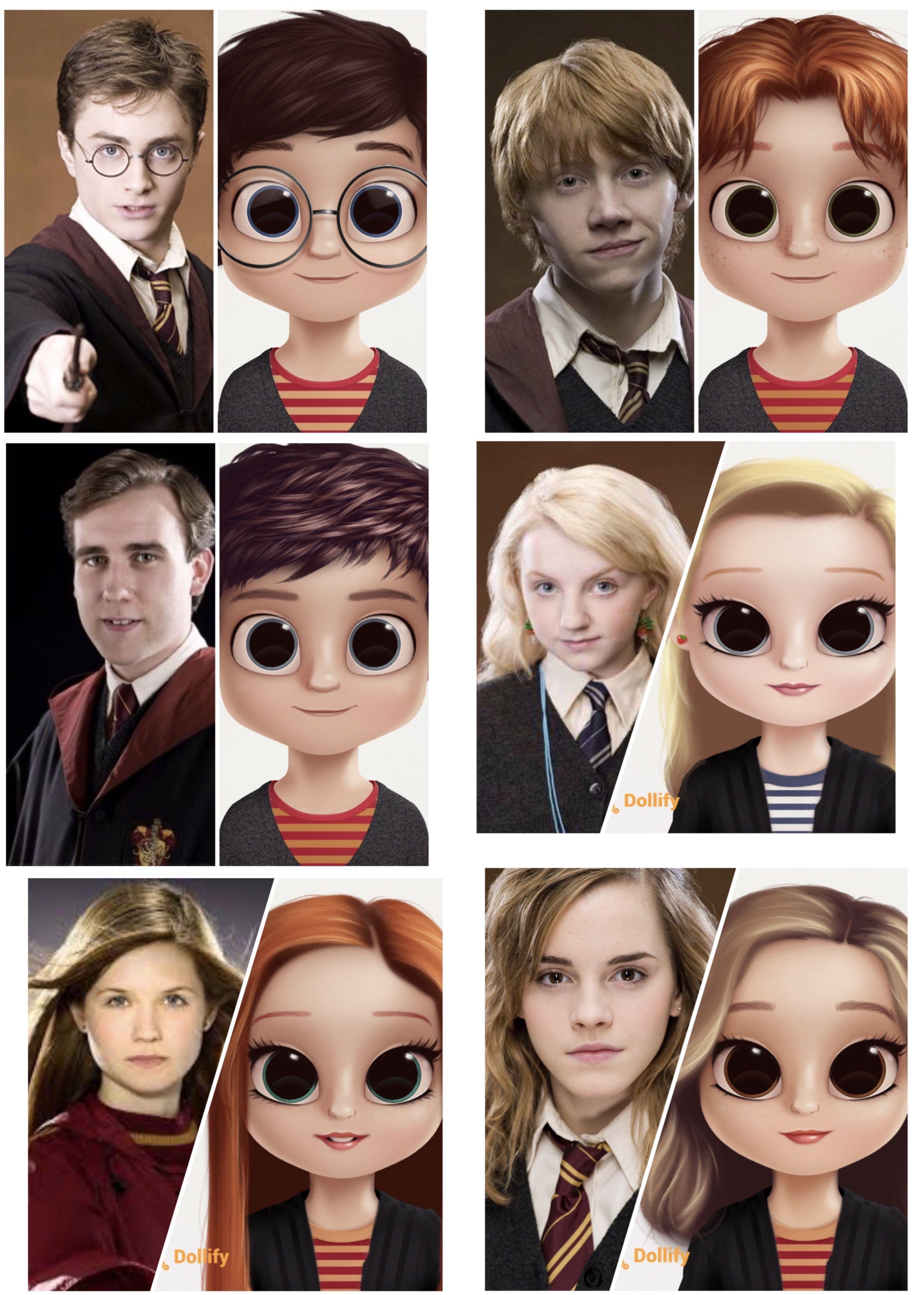 Harry Potter Dollify Harry Potter Art Cute Girl Wallpaper Cute Disney Wallpaper
