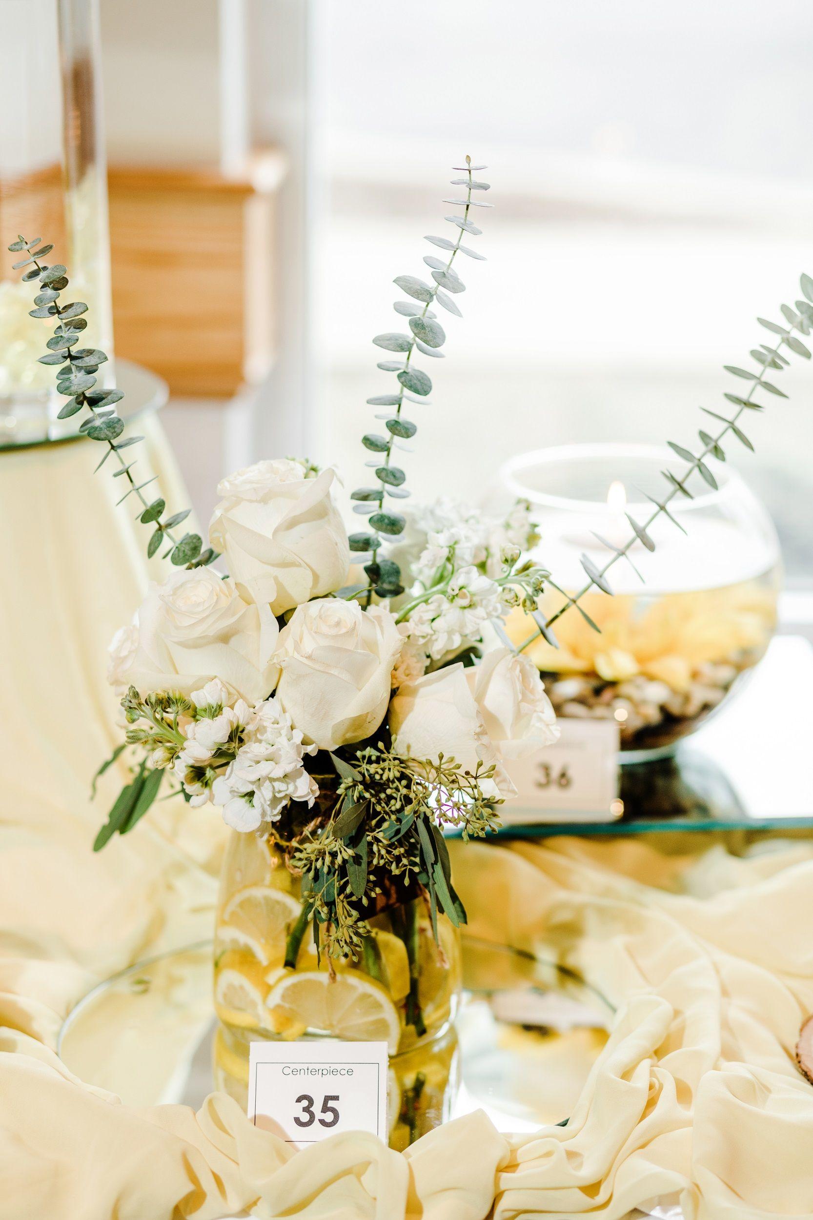 Perfect Lemon Wedding Centerpieces Adornment The Wedding Ideas