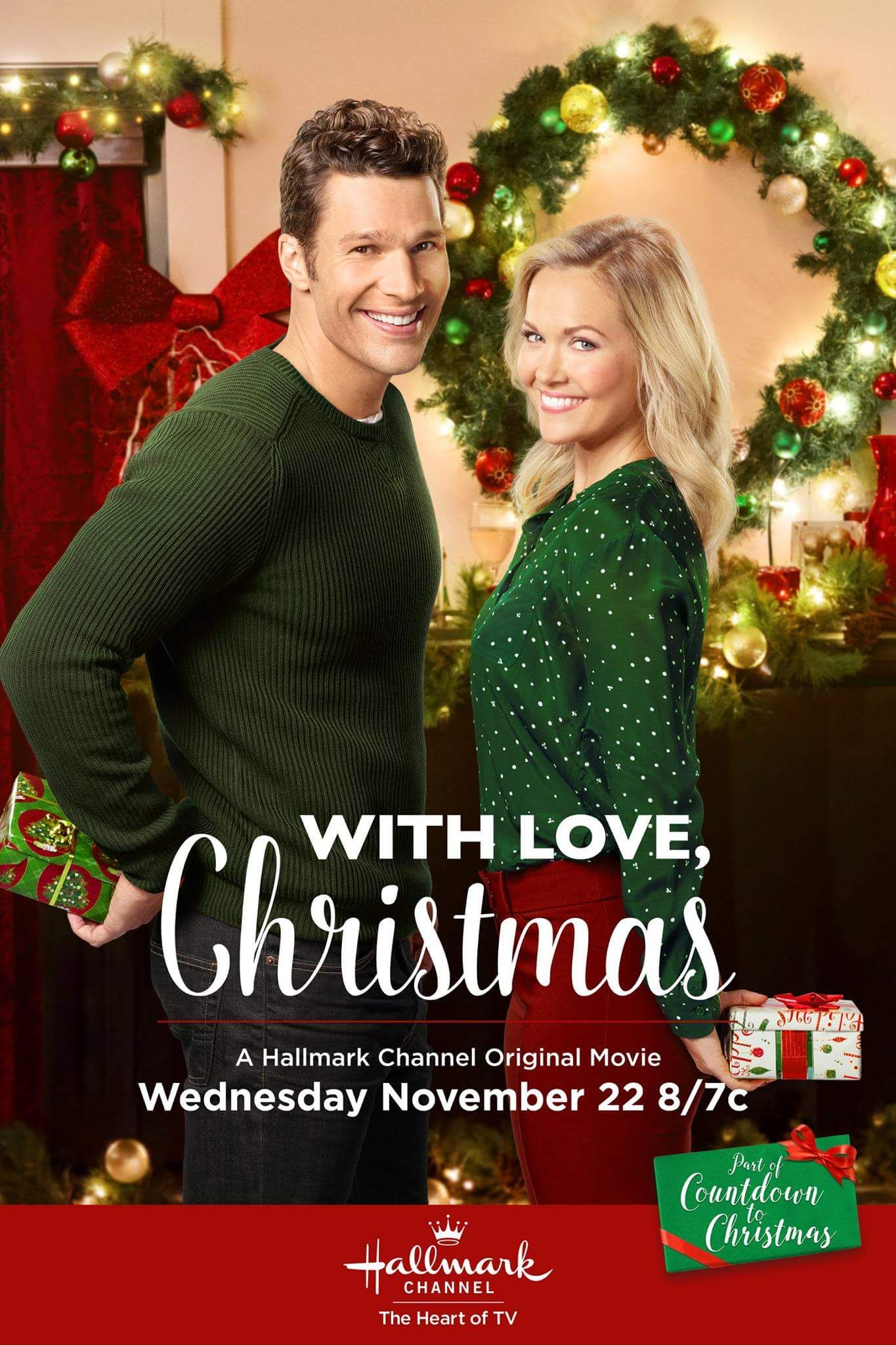 With Love, Christmas - Premieres Wed November 22 on the Hallmark ...
