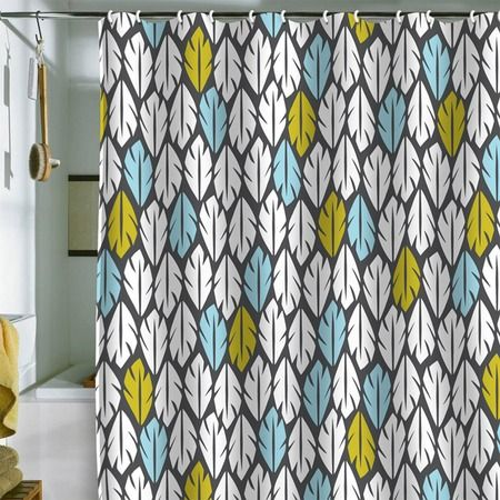 LOVE THIS PATTERN! - Heather Dutton Foliar Shower Curtain from the DENY Designs event at Joss and Main!