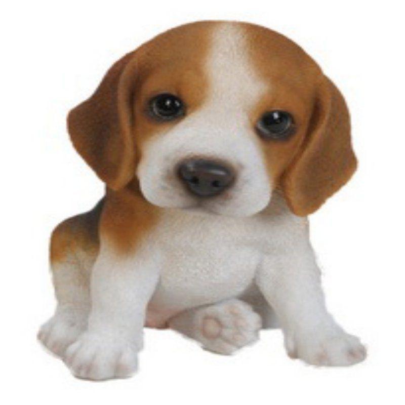 Hi Line Gift Ltd. Sitting Beagle Puppy Garden Statue   87771 G
