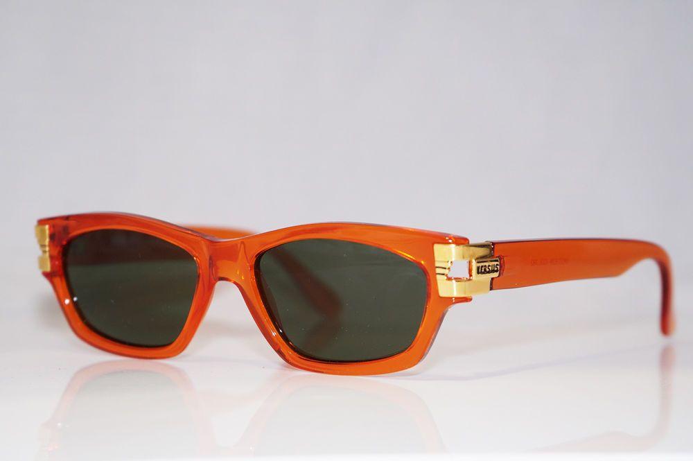 4a15adfc7dc5 VERSUS VERSACE 1990 Vintage Mens Designer Sunglasses Orange MOD E29 COL782  16174 (eBay Link)
