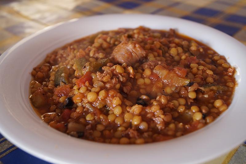 Lentejas con longaniza ver receta http for Formas de cocinar lentejas