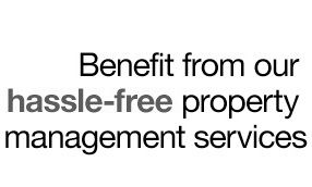 We offer full management and tenant find services.