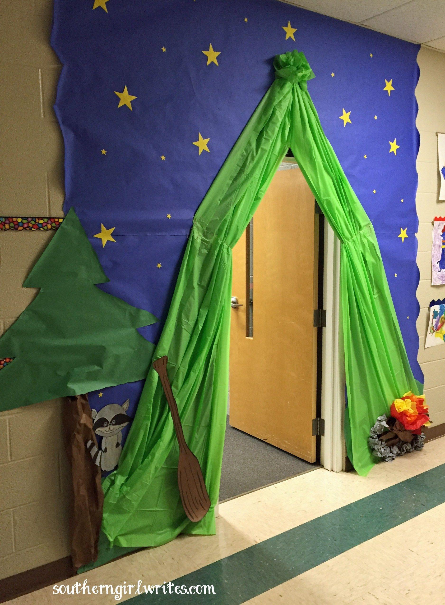 Teacher Appreciation Week Camping Theme Camping Theme