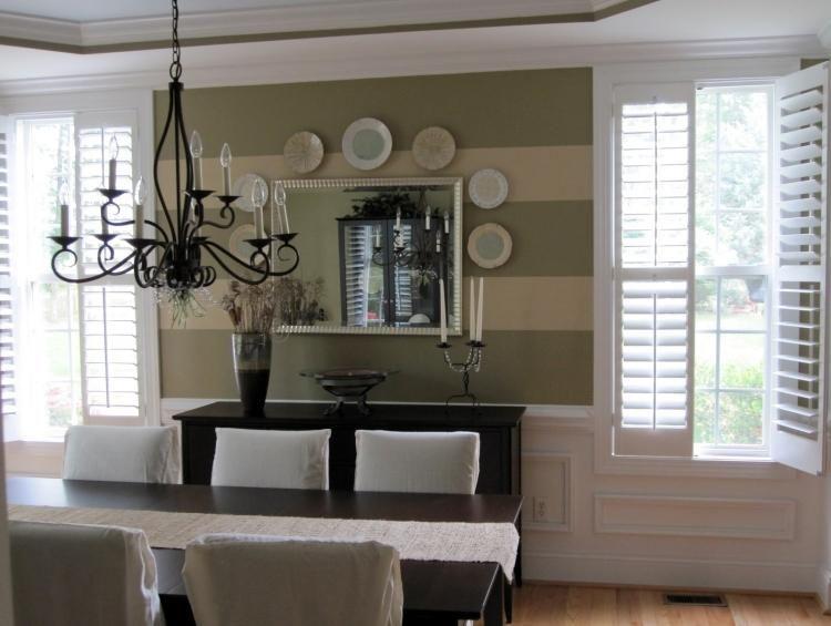 Wandgestaltung im Esszimmer 25 originelle Designs  Ideen #designs