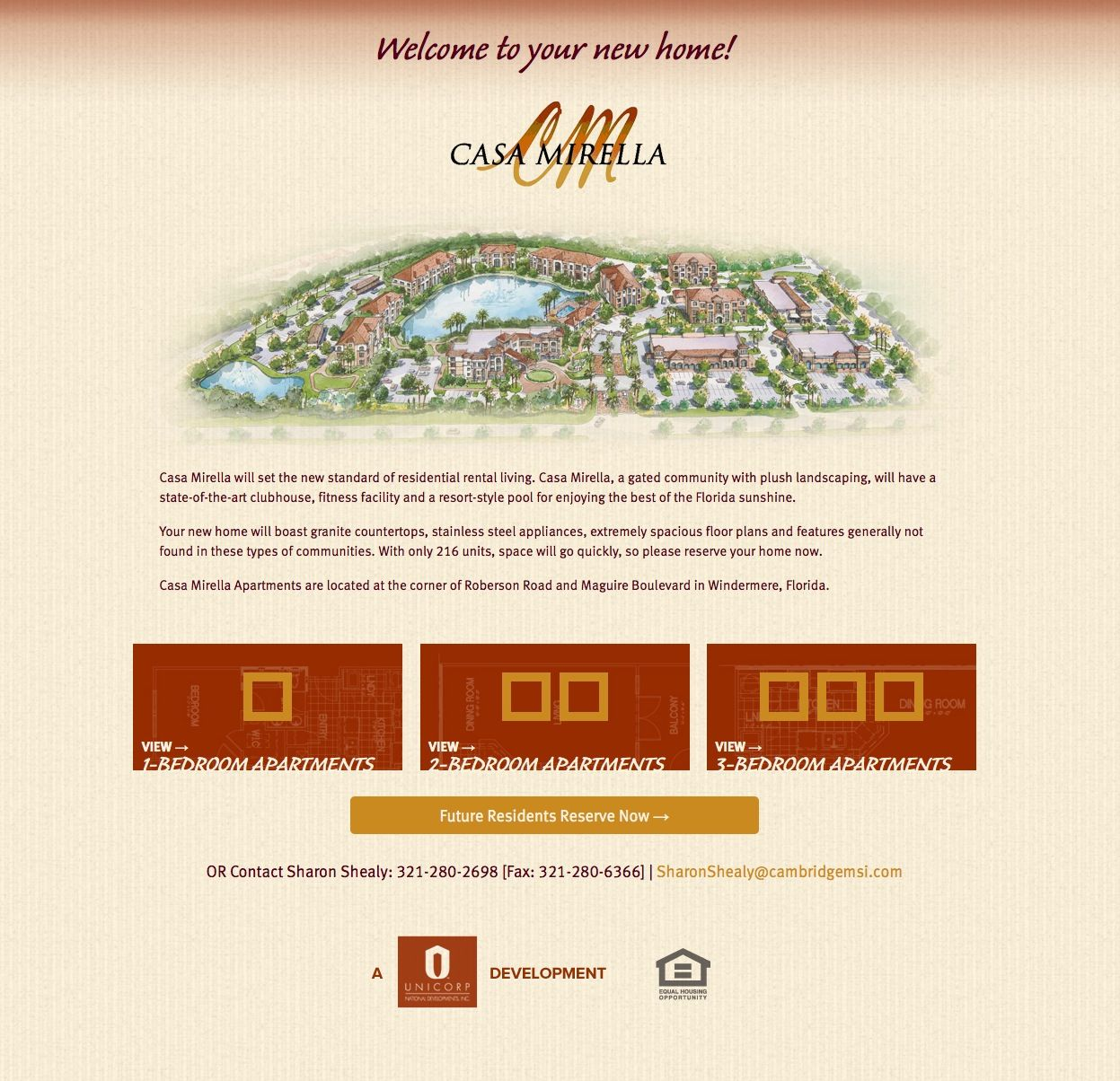 Casa Mirella Luxury Apartments Website By Flitehaus Creative Agency Florida Sunshine Luxury Apartments Types Of