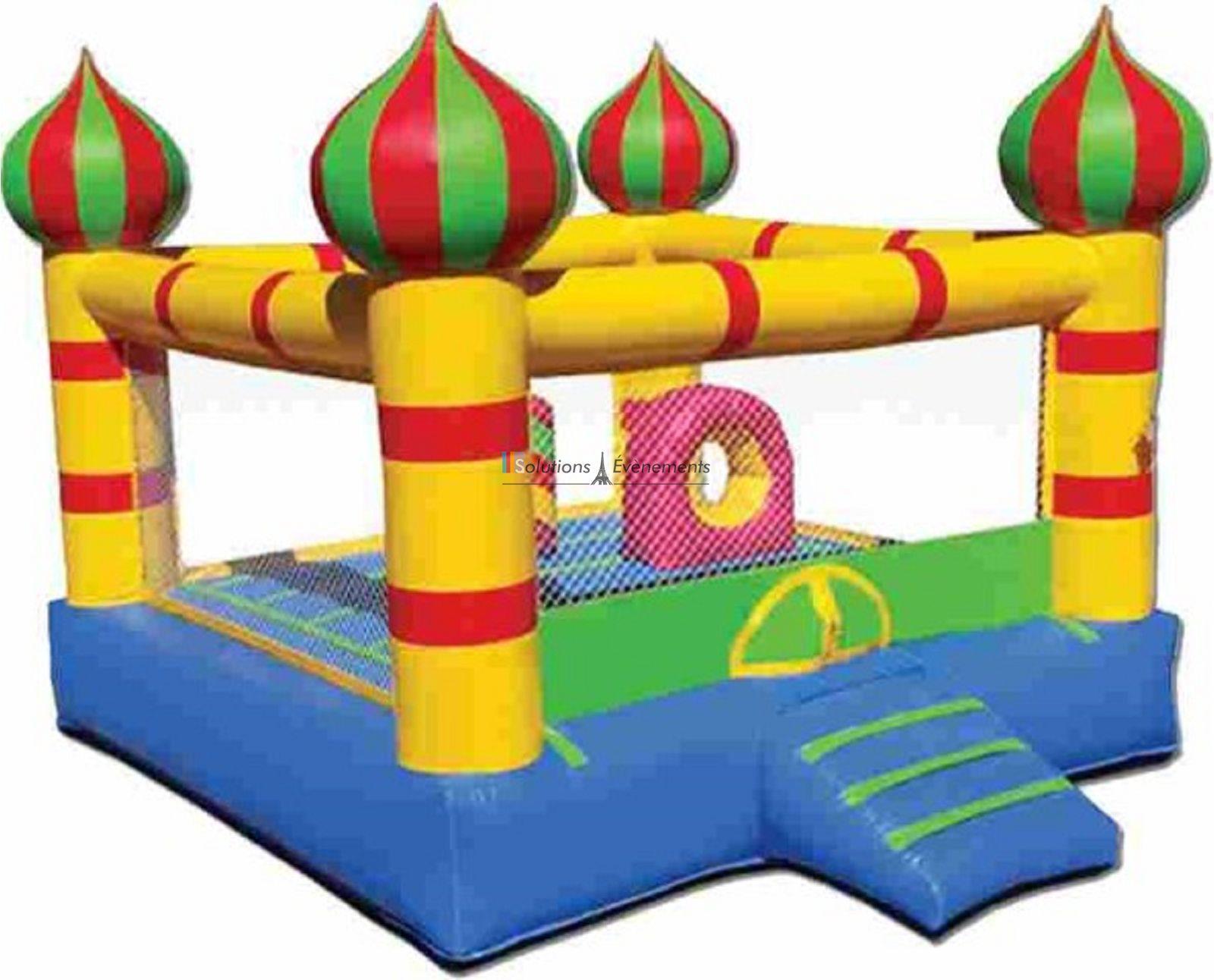 location chateau gonflable paris enfant structure jeux. Black Bedroom Furniture Sets. Home Design Ideas
