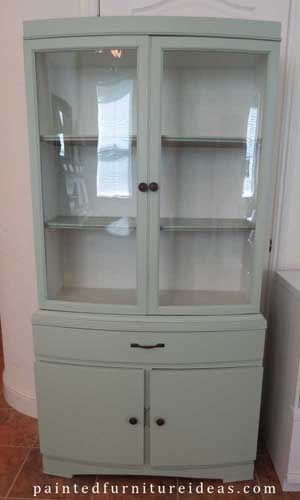 \u0027Hutch Refinished in Sage - before and after pix. Lots of other makeovers and tutorials here too.\u0027 & Where To Buy Used Furniture Perfect For Painting | DIY Home ...