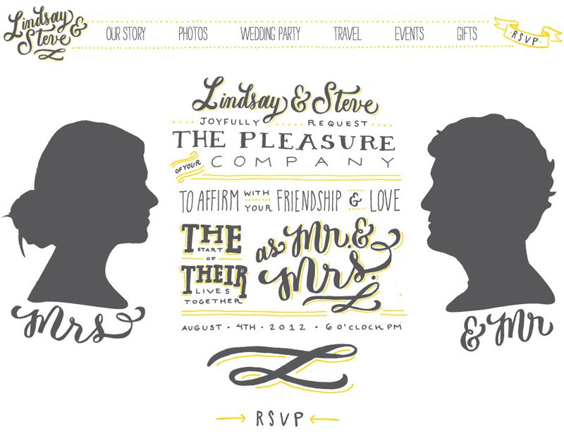 Lindsay + Steveu0027s Hand Lettered Wedding Invitations Wedding - free invitation layouts