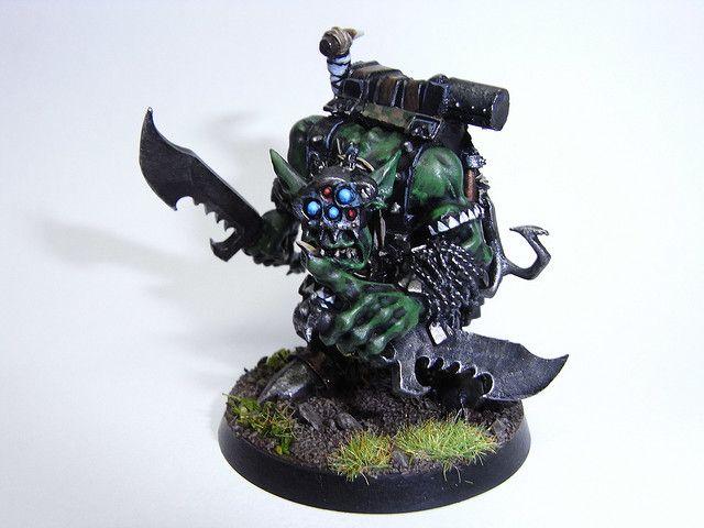 Ork Boss - Snikrot   (by kabankuru, via Flickr)