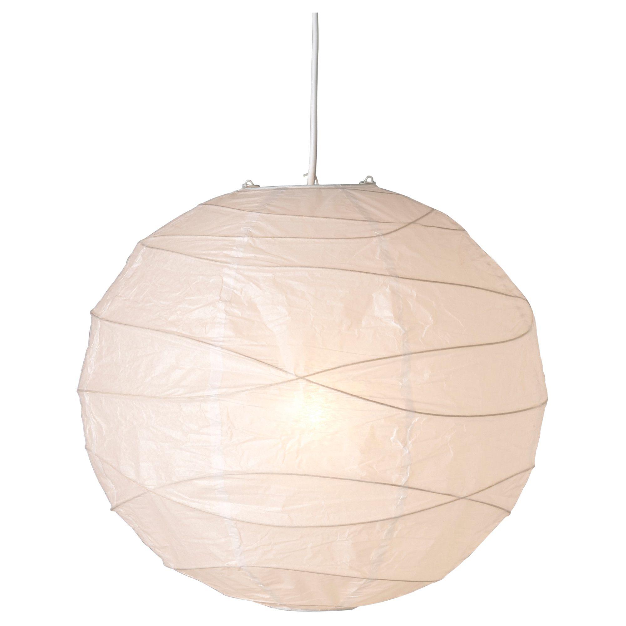 Regolit Pendant Lamp Shade White 17 Ikea In 2020 Ikea