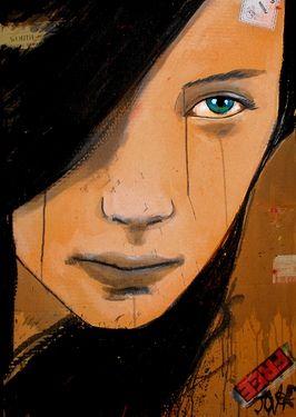 "Saatchi Online Artist Loui Jover; Assemblage / Collage, ""free"" #art"