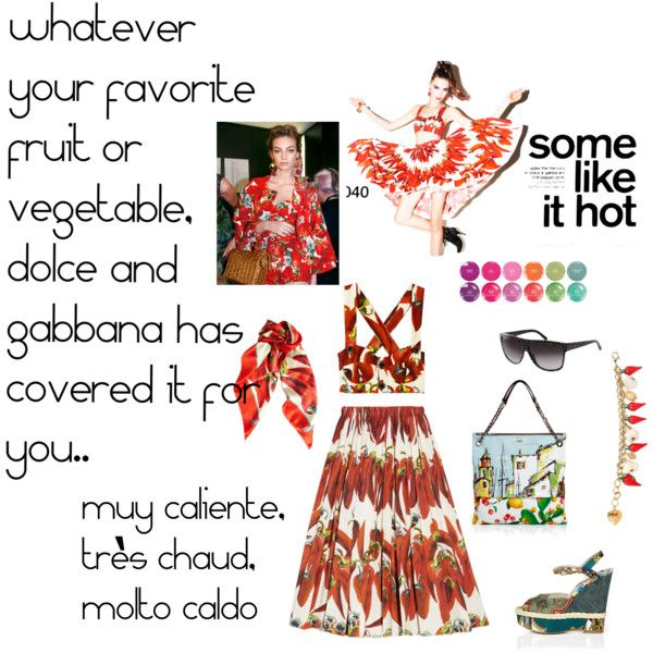 ii muy caliente..., created by anthrofashionist on Polyvore