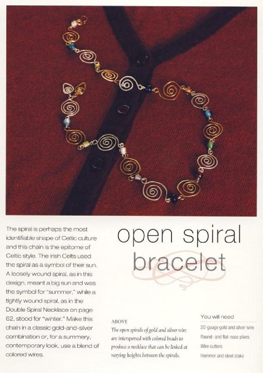 #ClippedOnIssuu from Celtic Jewelry by Linda Jones 2007 - Wire & Bead