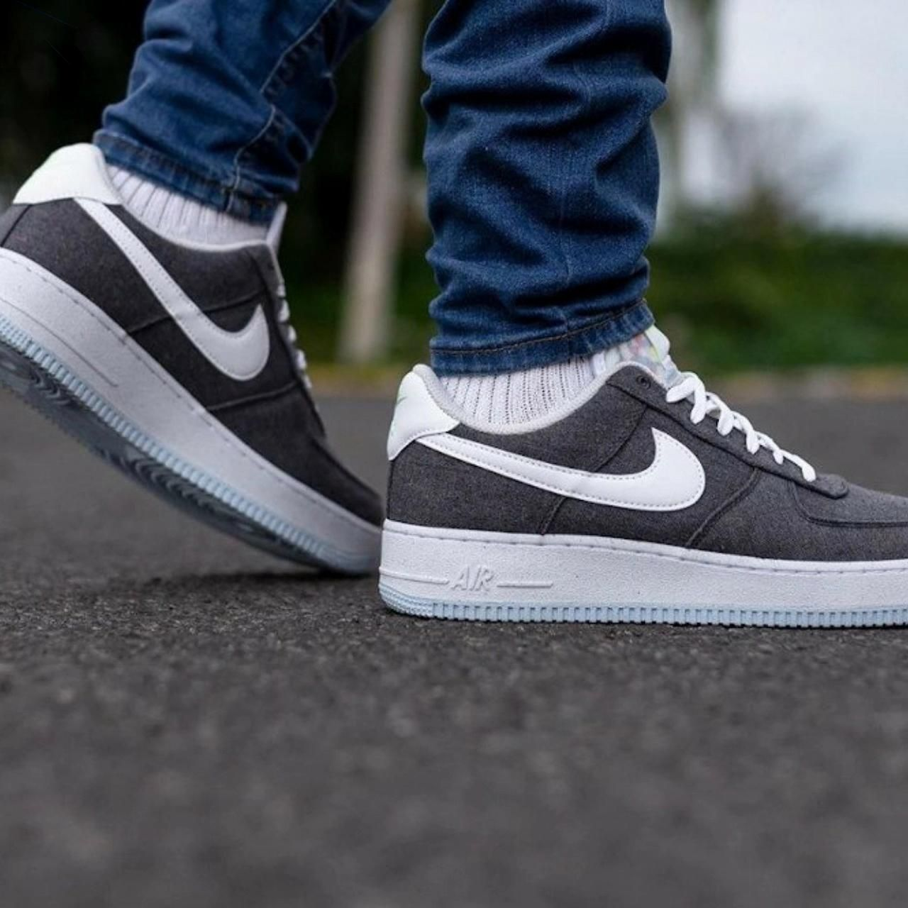 Nike #Air #Force 1 07 #Low #Iron #Grey #Recycled #Canvas #Pack ...