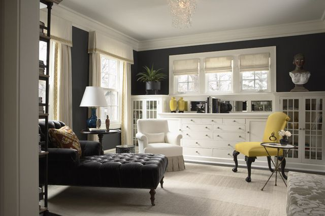 Best Contemporary Living Room By Mary H*Ck*Y Interiors Grey 400 x 300