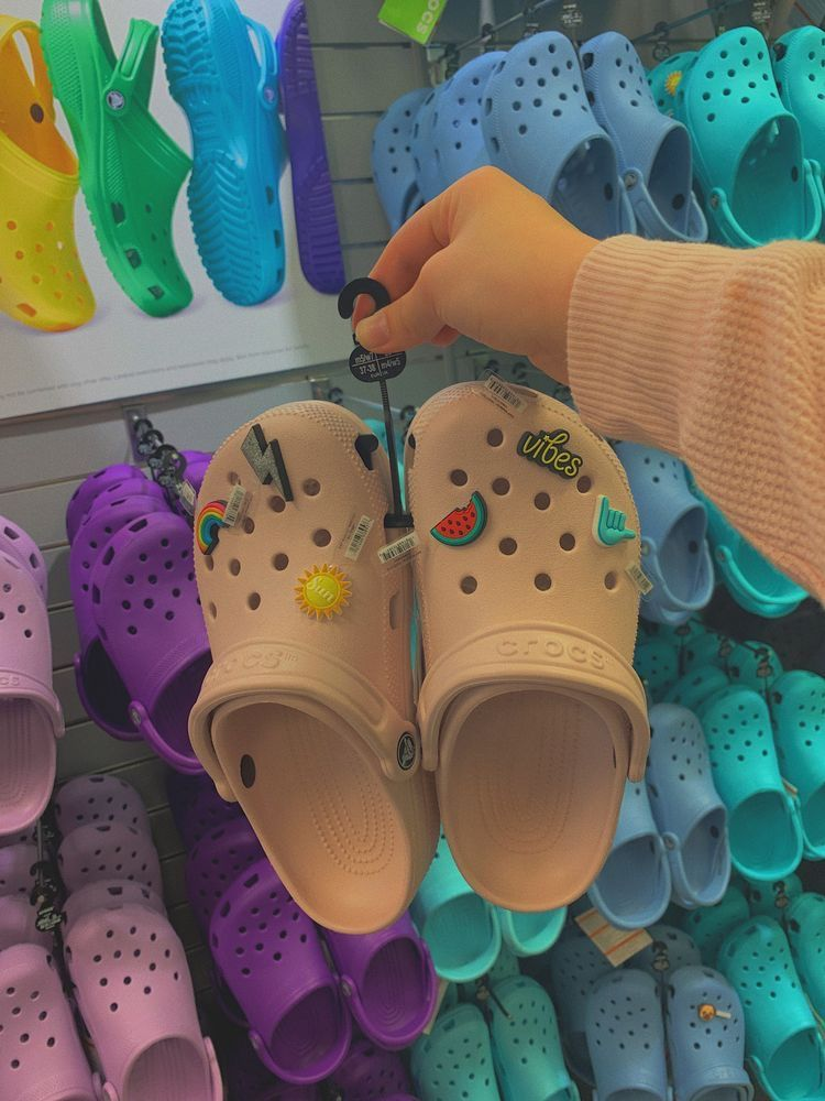 Pin By Brownskinliv On Heavy Steppers Crocs Crocs Shoes