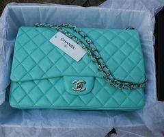 Chanel Tiffany Blue Purse Wedding Gift To Myself Chanel Bag Chanel Purse Chanel