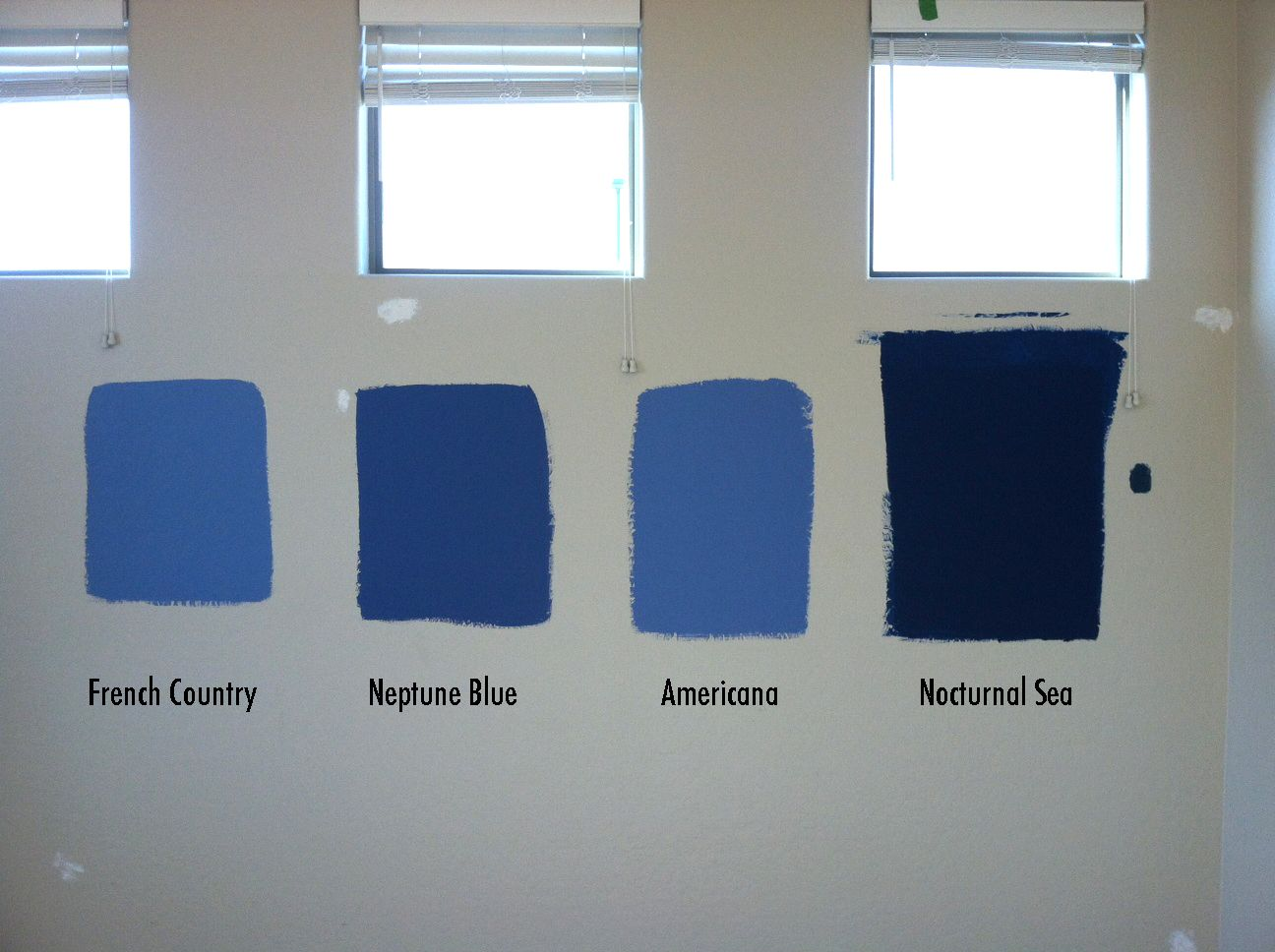 Blues For The Bedroom From Behr Paints French Country Neptune Blue Americana