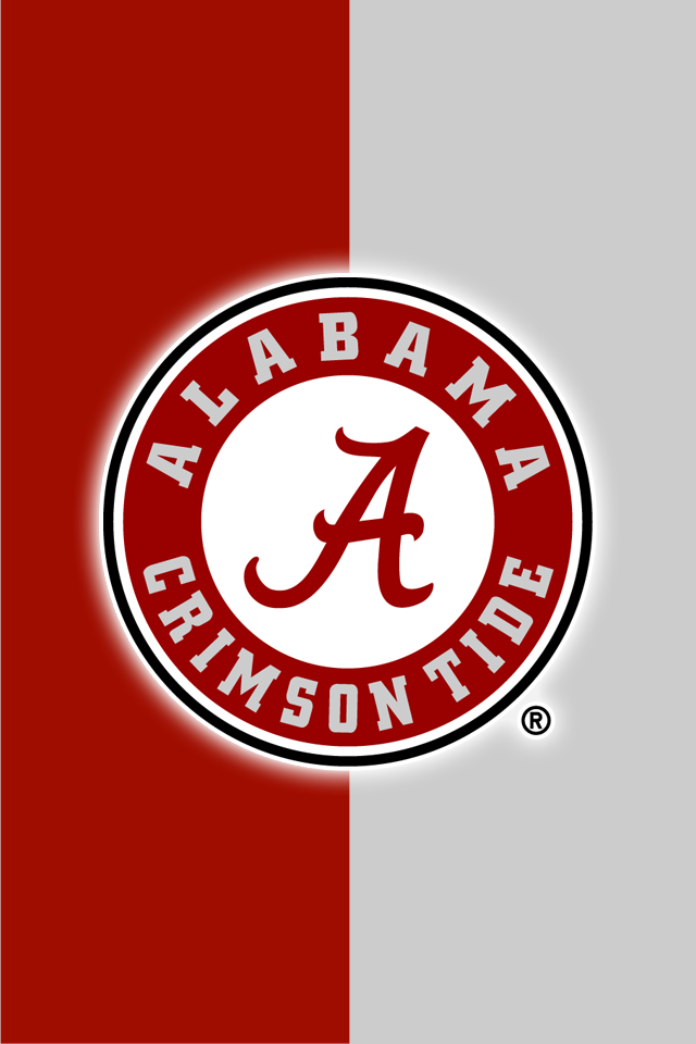 Set Of 12 Officially Ncaa Licensed Alabama Crimson Tide Iphone Wallpapers Alabama Wallpaper Alabama Crimson Tide Alabama Football
