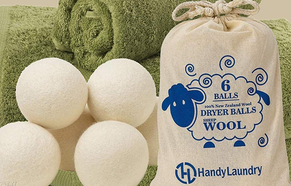 Amazon Com Wool Dryer Balls Natural Fabric Softener Reusable