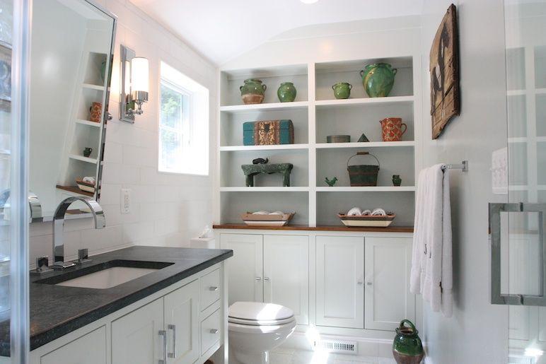 Custom Builtin Shelving Arlington VA Bathroom Remodel By Interesting Bathroom Remodeling Arlington Va