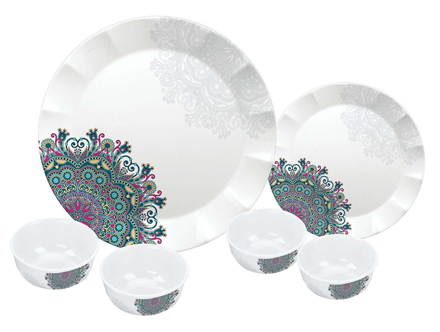 Servewell Ethnicity Dora Dinner Set 24-Pieces - Best Home and Kitchen Store  sc 1 st  Pinterest & Servewell Ethnicity Dora Dinner Set 24-Pieces - Best Home and ...