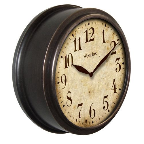 Deep Dish Classic 10 Wall Clock Wall Clock Classic Classic Clocks Unique Wall Clocks