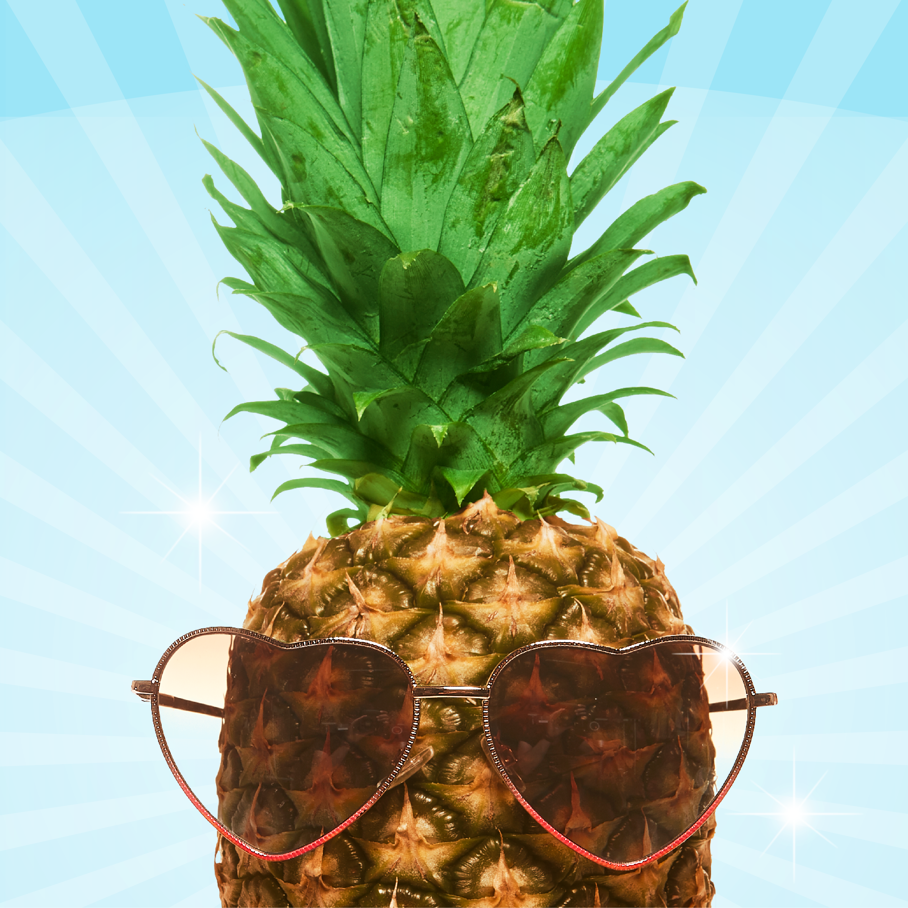 Pineapple With Sunglasses Tumblr A Pineapple With Sunglasses Just Because Summer