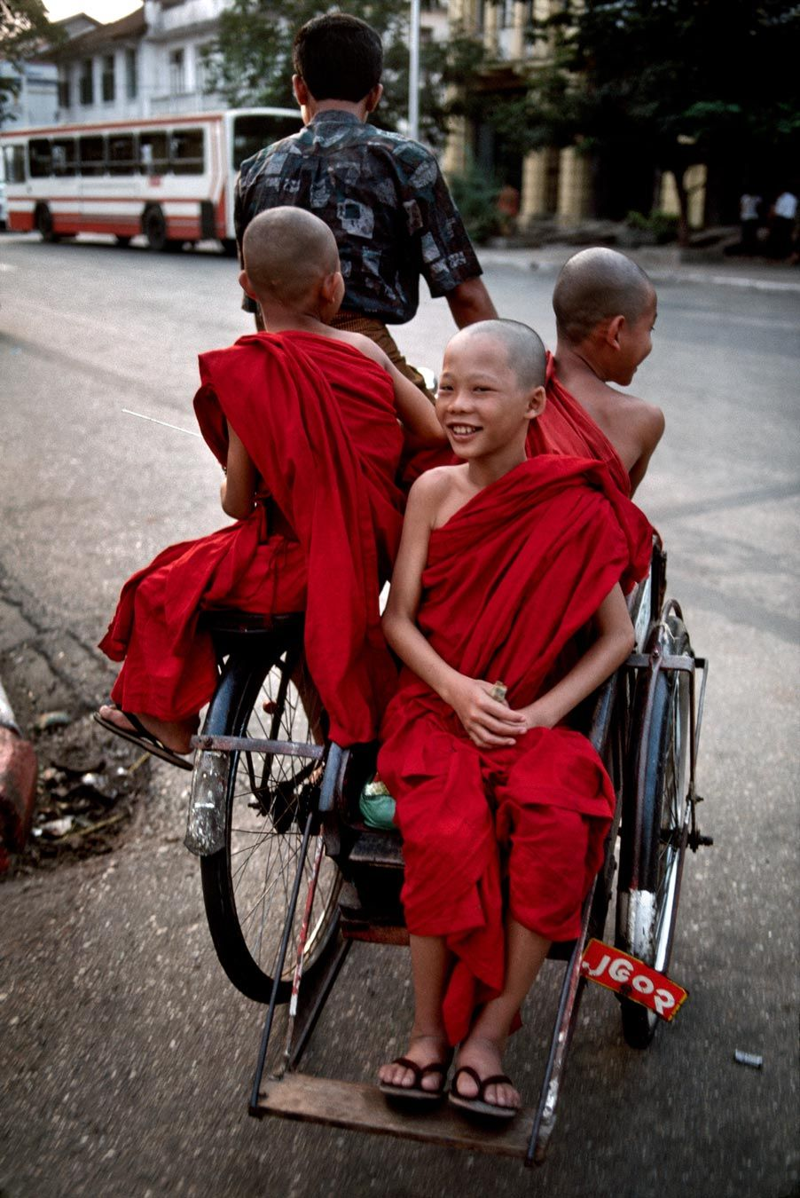 Getting around in Myanmar (Burma)   Steve McCurry