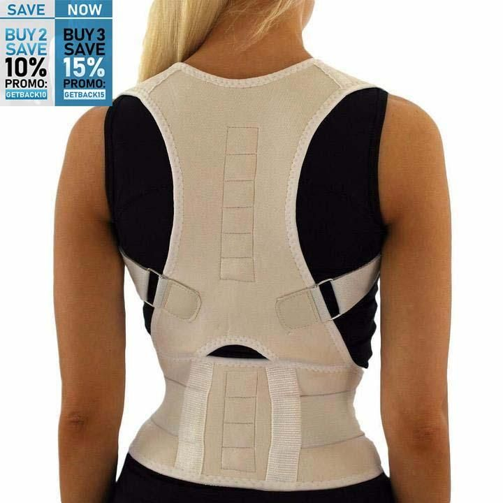 UNISEX™ Magnetic Posture Corrective Therapy Back Brace  2e7bfd9cf
