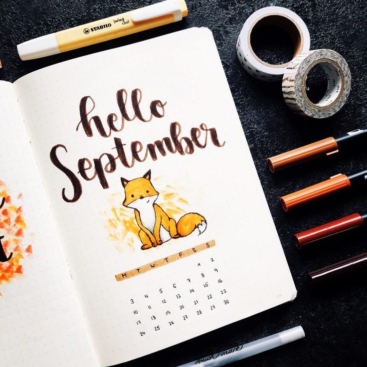 45 Foxy and Sly Fox themed bullet journal ideas #bulletjournalideas