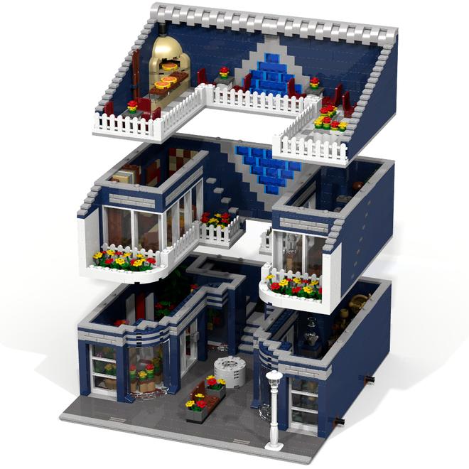 lego modular mall lego buildings pinterest lego lego ideen und lego haus. Black Bedroom Furniture Sets. Home Design Ideas
