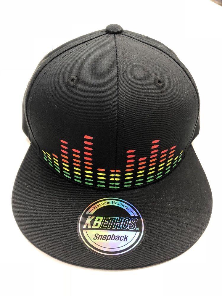 c5efda97 Black EQUALIZER Snap Back Hat Disco Biscuits BASSNECTAR EDM ART #fashion  #clothing #shoes #accessories #unisexclothingshoesaccs #unisexaccessories  (ebay ...