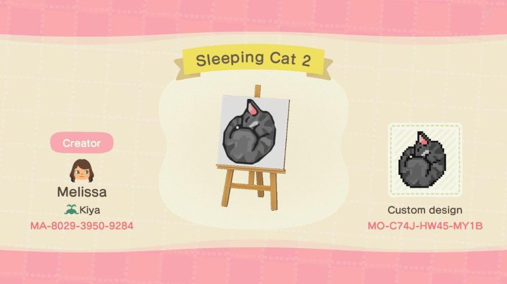 Custom Designs Animal Crossing New Horizons Animal Crossing 3ds Animal Crossing Cats New Animal Crossing