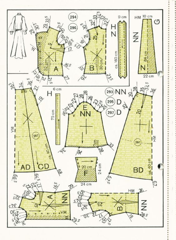 Sewing Patterns S 13 cocktail evening wedding 1972 Sewing Patterns ...