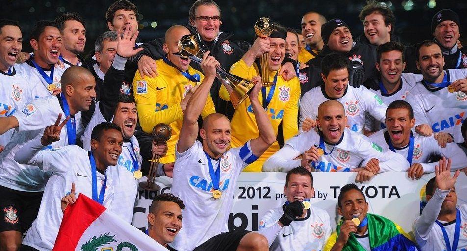 Corinthians Vence Chelsea E E Bi Campeao Mundial De Clubes O Vale Do Ribeira Campeoes Mundiais Campeao Corinthians 2012