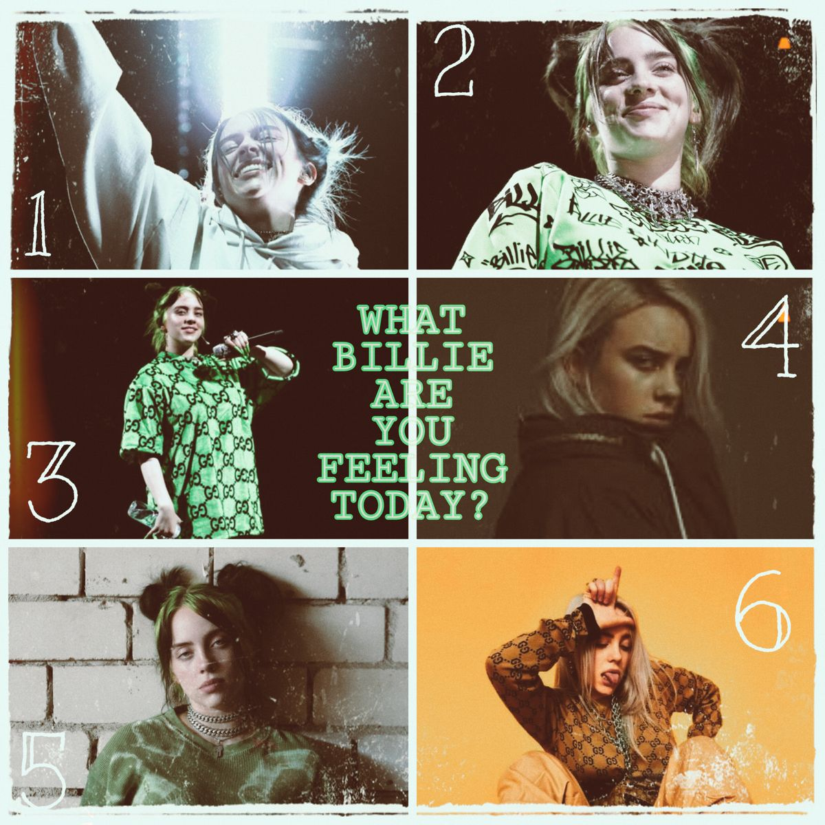 What Billie Are You Feeling Today In 2020 Billie Feelings How Are You Feeling