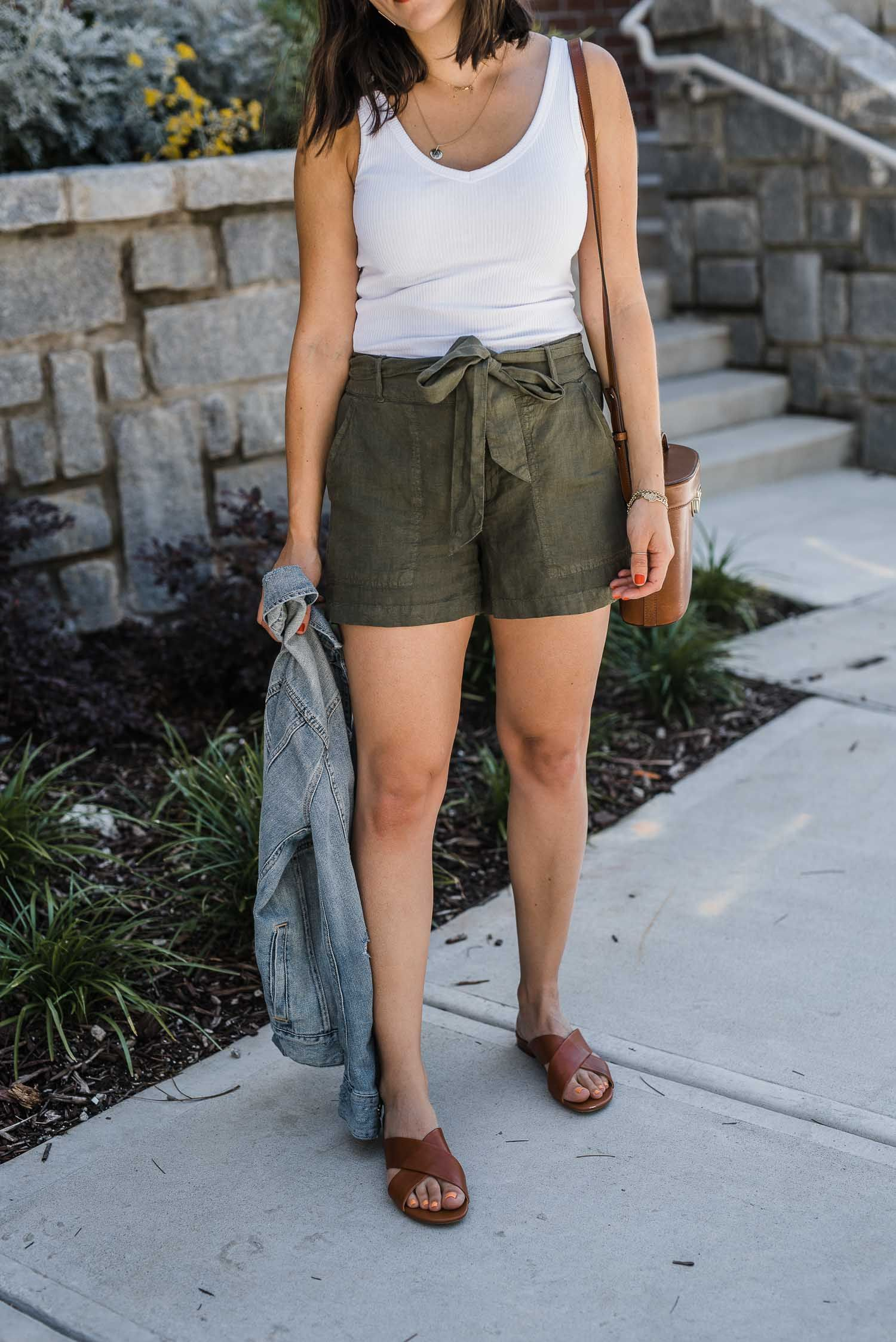 The Best Linen Shorts For Summer Trendy Outfits