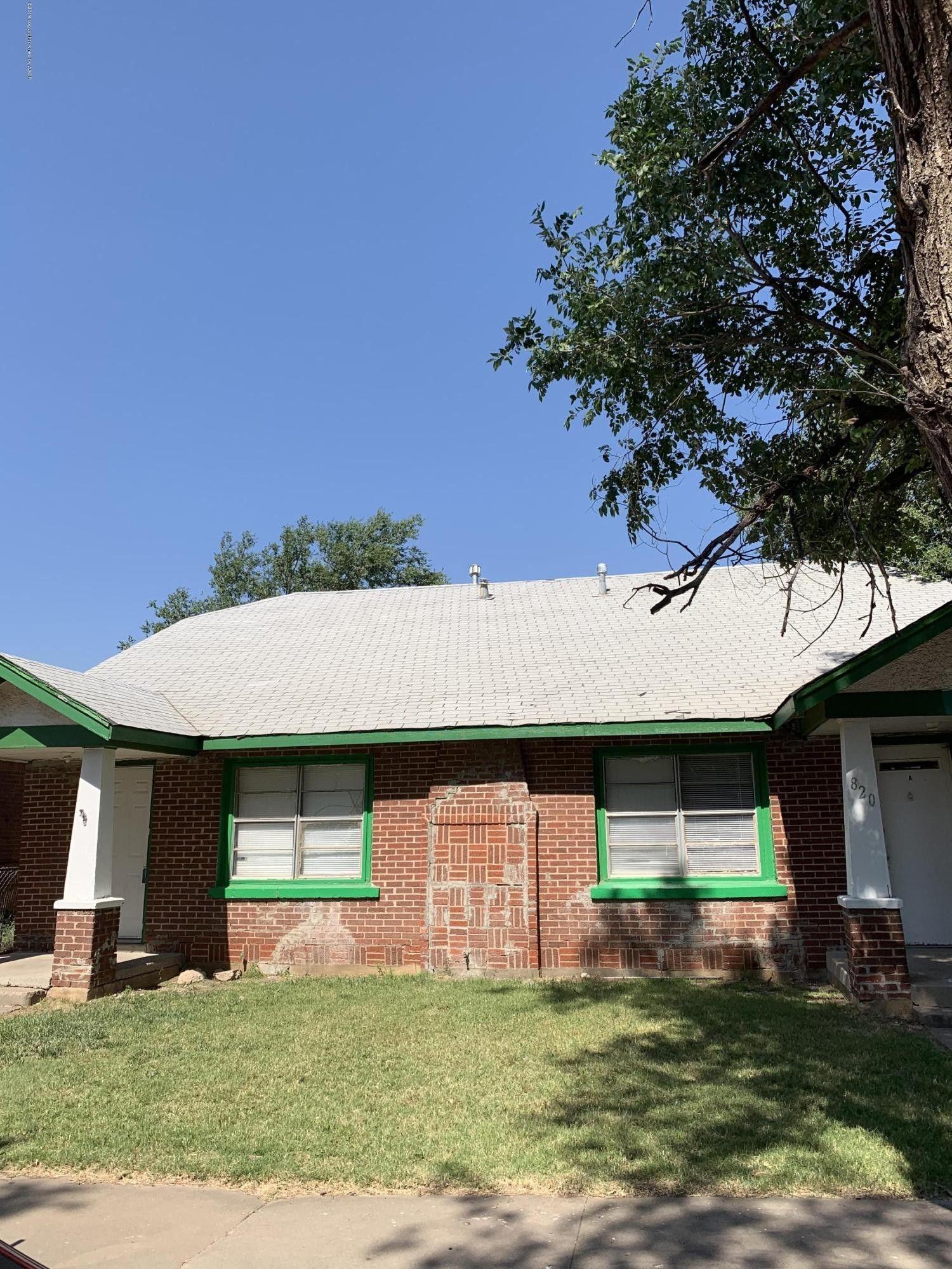 820 S Alabama St Amarillo Tx 79106 House Styles Outdoor Decor Backyard