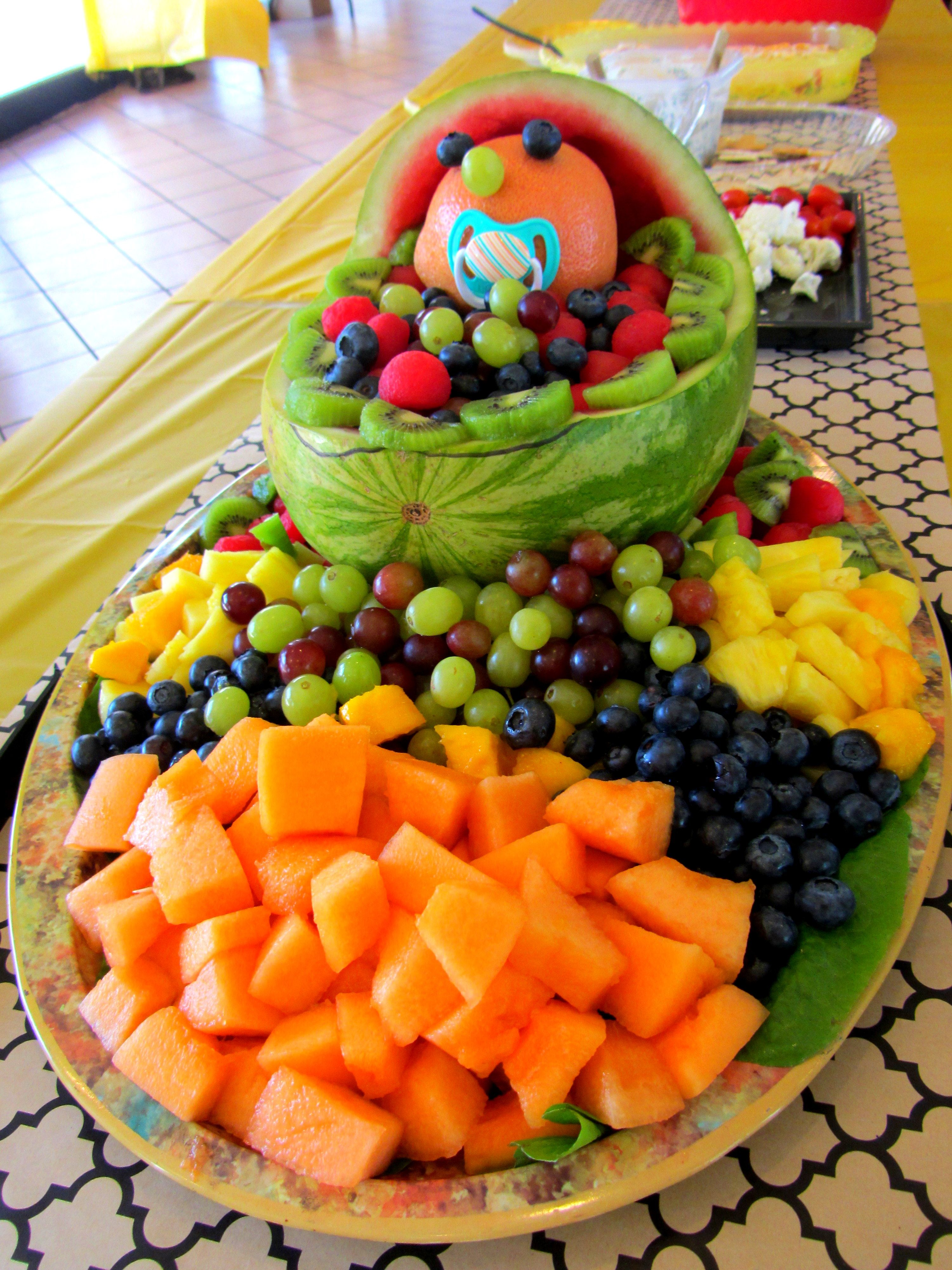 Fruit Platter Baby Shower Julie The Cruise Director Baby