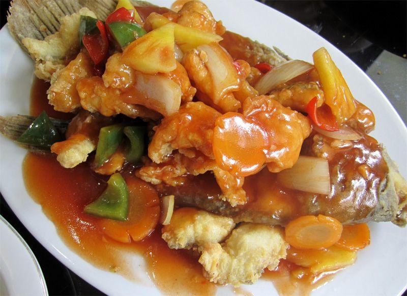 Dapur Cobek Com Gurame Asam Manis Resep Ikan Resep Masakan