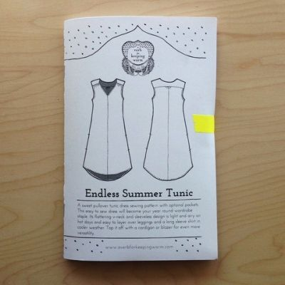 Endless Summer Tunic Pattern by A Verb for Keeping Warm