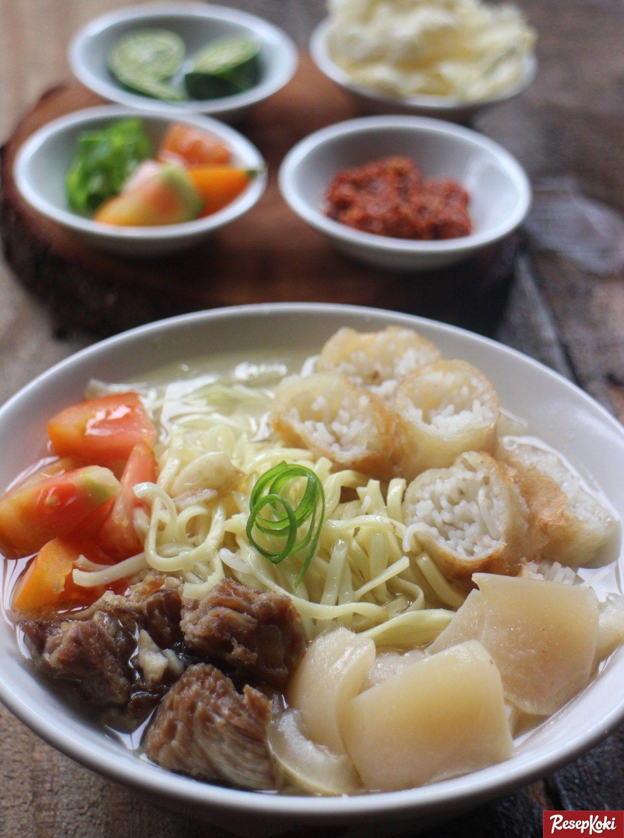 Soto Mie Asli Khas Bogor Praktis Dan Istimewa Resep Resepkoki Resep Resep Resep Makanan Masakan